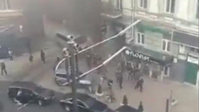 Біля офісу Віктора Медведчука в Києві пролунав вибух