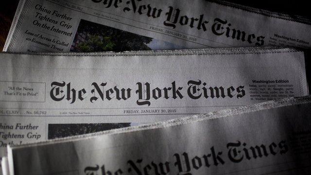 NYT опублікувала на першій сторінці імена і некрологи тисячі жертв Covid-19
