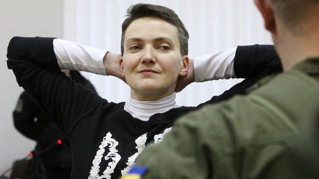 Надія Савченко дала інтерв'ю російському телеканалу НТВ