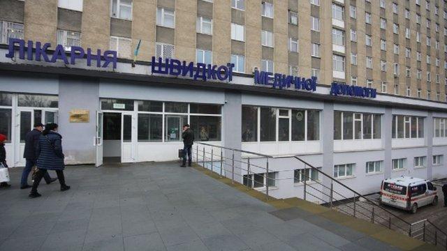 У львівській лікарні швидкої допомоги 90 медиків захворіли на коронавірус