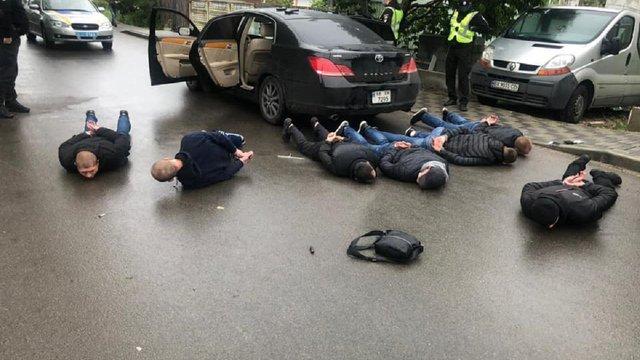 У Броварах сталась стрілянина між перевізниками за участі десятків людей