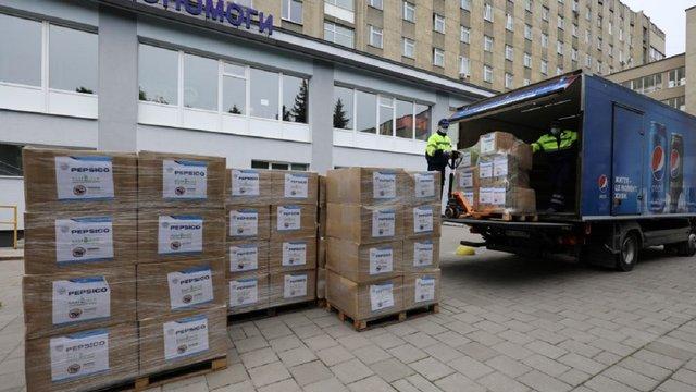 Медики лікарні швидкої медичної допомоги отримали ще 4000 комплектів засобів захисту