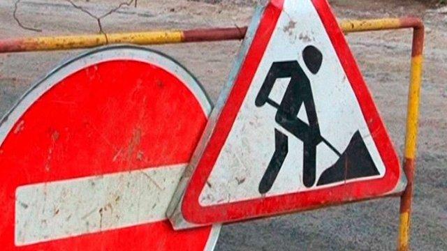 Із наступного тижня на місяць частково перекриють для руху дві вулиці у Франківському районі