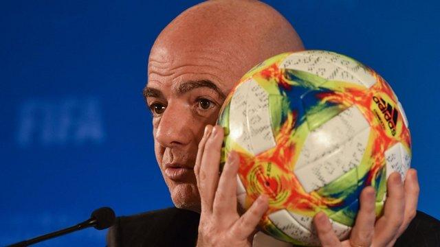 Голова ФІФА анонсував великі реформи в футболі