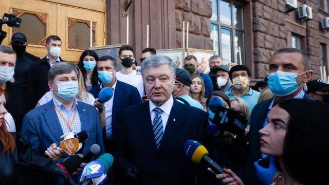 Офіс генпрокурора повідомив про підозру Петру Порошенку