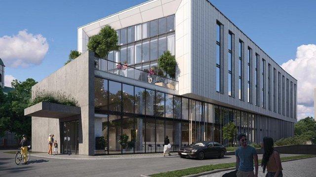 У Львові збудують новий 5-поверховий конференц-готель