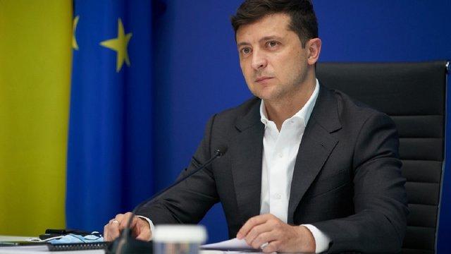 Володимир Зеленський заявив про вимогу повноправного членства України в ЄС