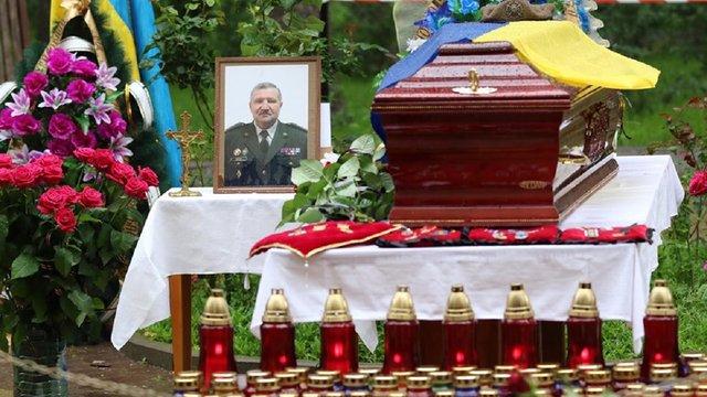 Львів попрощався з начальником військового госпіталю, який помер від коронавірусу
