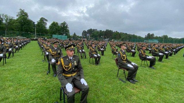 На Львівщині відзначили випуск понад 650 офіцерів ЗСУ