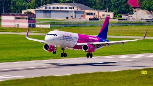 Wizz Air почав виконувати авіарейси зі Львова у Будапешт