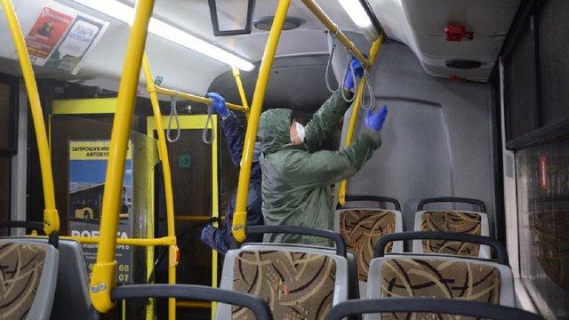 У Львові посилили перевірку за дотриманням карантину у громадському транспорті