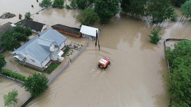 Через повені на заході України підтоплено понад 11 тис. будинків