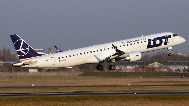 Польська авіакомпанія LOT відновлює польоти до Львова, Києва та Одеси