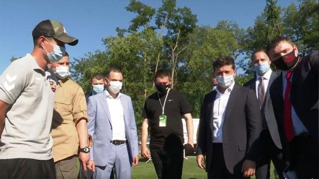 Зеленський доручив відродити ФК «Кривбас» народному депутату «Юзіку»