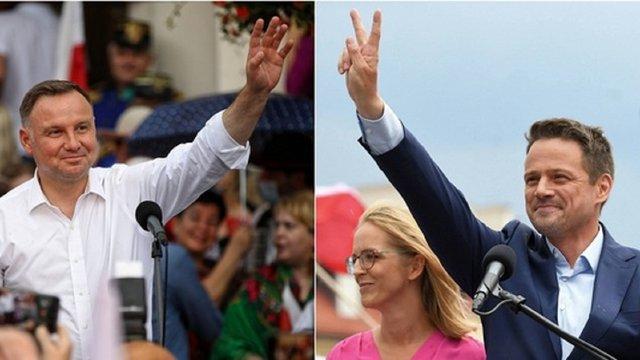 До другого туру виборів президента Польщі вийшли Анджей Дуда і Рафал Тшасковський