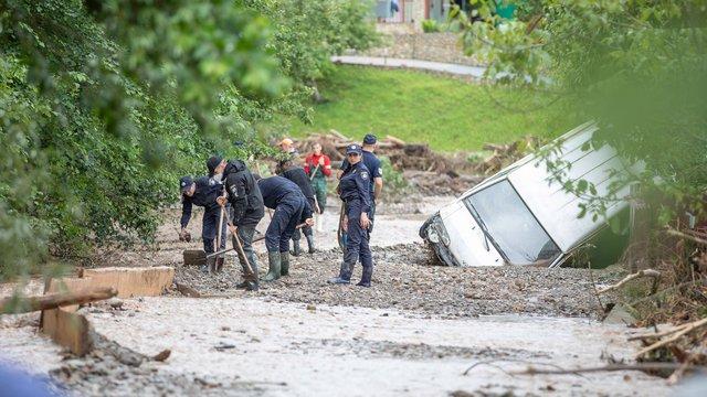Італія надіслала до України допомогу для подолання наслідків паводків
