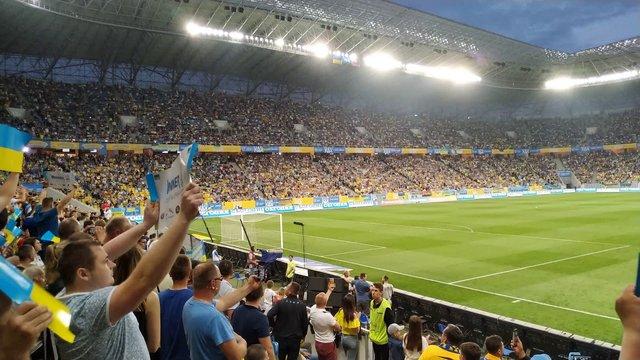 Львів прийме матч збірної України в Лізі націй