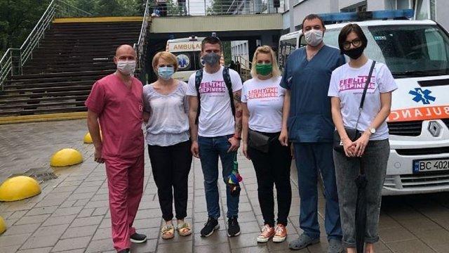 Львівська ІТ-компанія SoftServe купила апарати ШВЛ для міських лікарень
