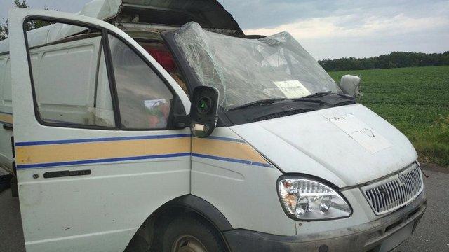 На Полтавщині грабіжники підірвали автомобіль «Укрпошти» і викрали 2,5 млн грн