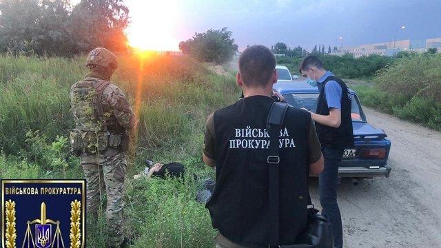 На Одещині затримали військовослужбовця за збут боєприпасів та вибухівки