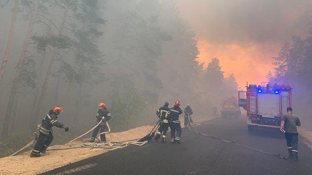Через масштабні лісові пожежі на Луганщині загинули п'ятеро людей