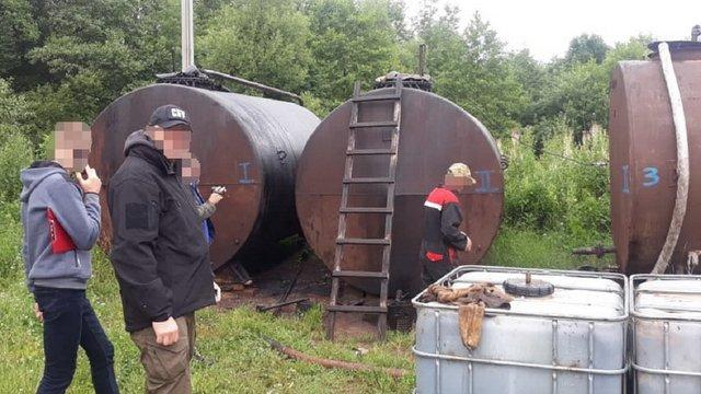 СБУ заблокувала незаконний видобуток нафти на Івано-Франківщині