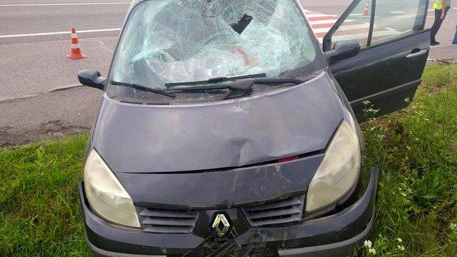 На Львівщині велосипедист отримав важкі травми у ДТП з п'яним водієм авто