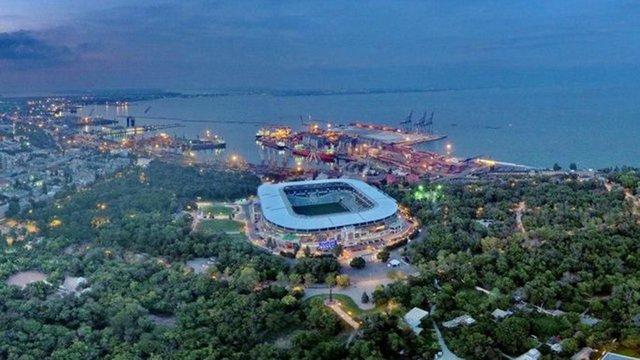 Американська компанія офіційно стала власницею одеського стадіону «Чорноморець»
