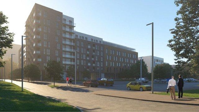 Біля Стрийського парку у Львові збудують житлово-офісний комплекс і школу