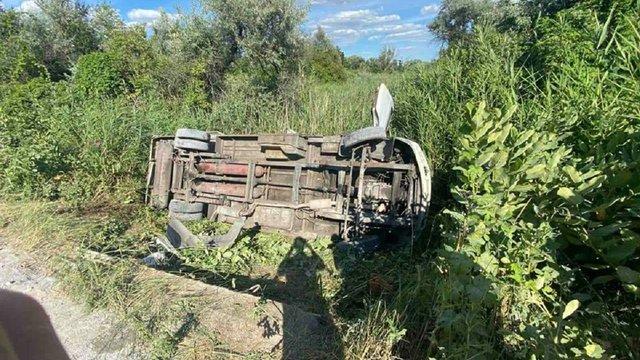 На Дніпропетровщині 15 людей потрапили до лікарні через ДТП за участю автобуса