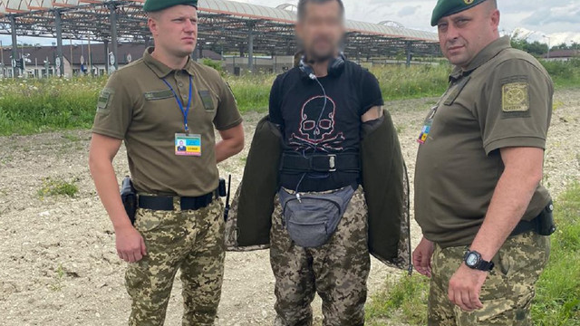 Латвієць у формі українського прикордонника намагався незаконно перетнути кордон