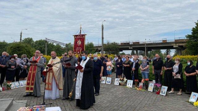 У Львові вшанували пам'ять загиблих у Скнилівській трагедії