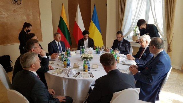 Україна, Польща і Литва створили новий формат міждержавної взаємодії