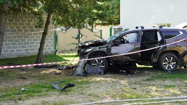 Внаслідок підриву автомобіля загинув 41-річний Тарас Іваничко