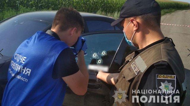 На Полтавщині розстріляли автомобіль, є загиблий