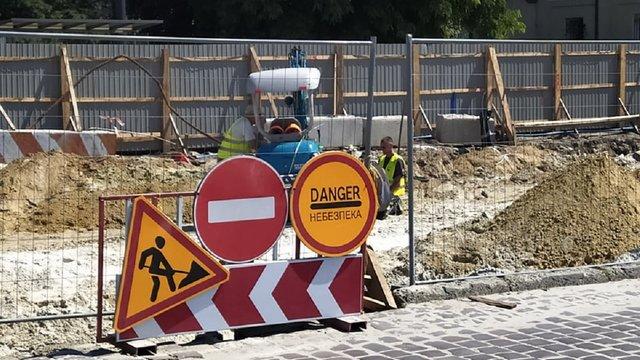 У серпні частину вул. Пекарської закриють на ремонт