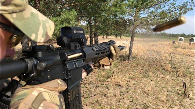 Українські прикордонники отримали штурмові гвинтівки, які відповідають стандартам НАТО