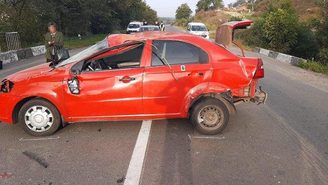 У Миколаївському районі перекинувся Chevrolet Aveo, загинула 21-річна пасажирка