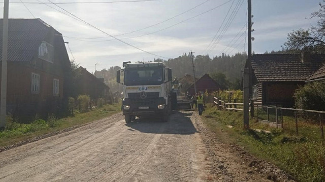 На Львівщині розпочали ремонт другої ділянки дороги Славське-Вигода
