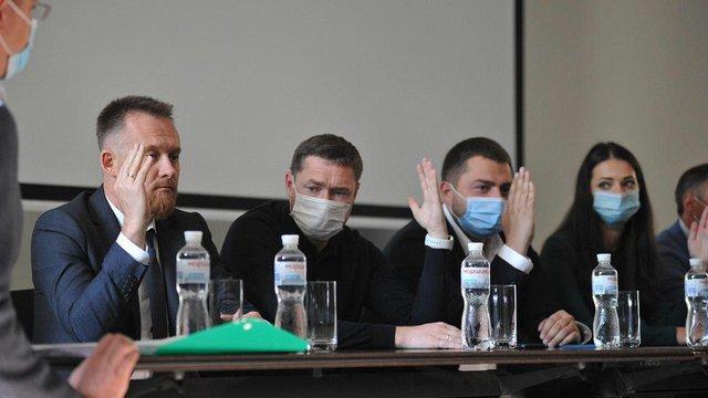 Партія «Слуга Народу» затвердила кандидатів на місцеві вибори на Львівщині