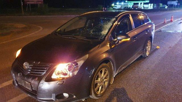 Водій Toyota на смерть збив чоловіка на трасі Київ-Чоп