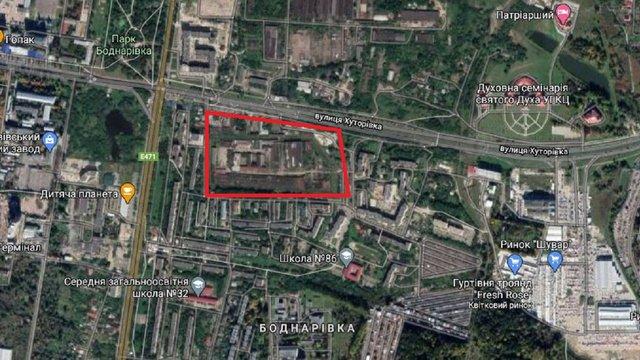 Львівська мерія представила план забудови виправної колонії на Хуторівці