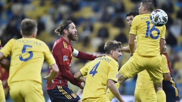 Збірна України сенсаційно перемогла Іспанію в матчі Ліги націй