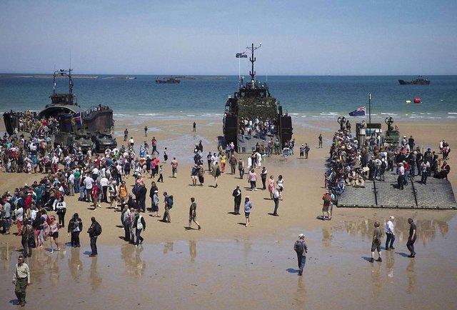 Святкування 70-ліття D-Day у Нормандії
