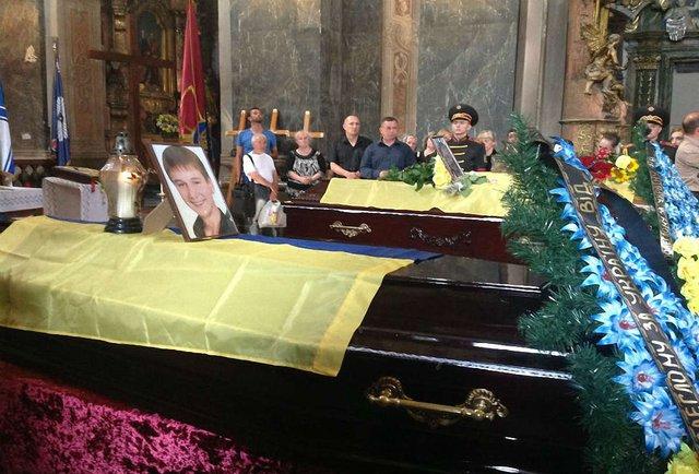Львів прощається з героями