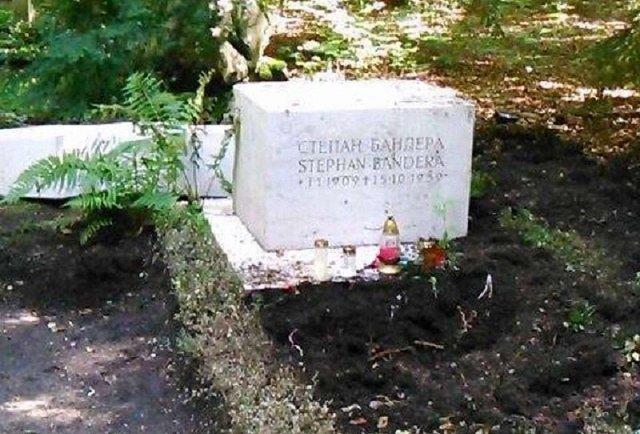 У Мюнхені сплюндрували могилу Степана Бандери
