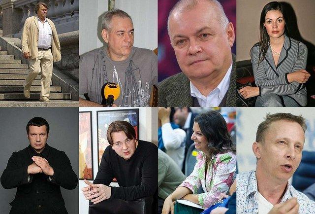 49 представникам російських ЗМІ заборонять в'їзд в Україну (список)