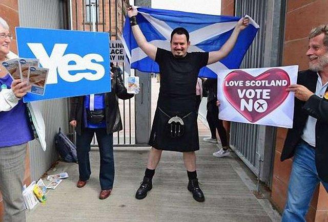 Перші результати референдуму Шотландії: 57,8% висловилися проти незалежності