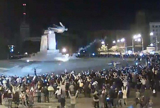 У Харкові таки звалили пам'ятник Леніну