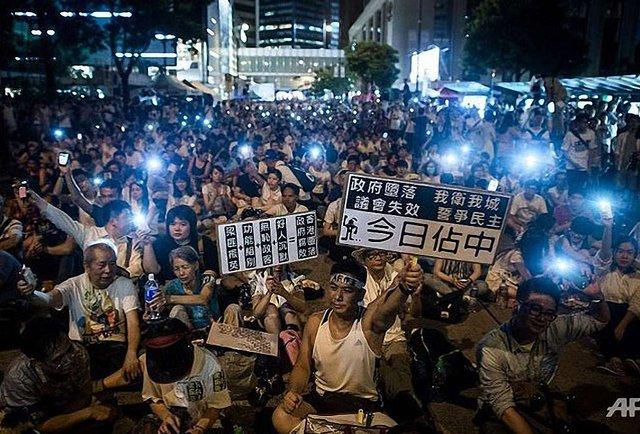 Привид Майдану в Гонконзі